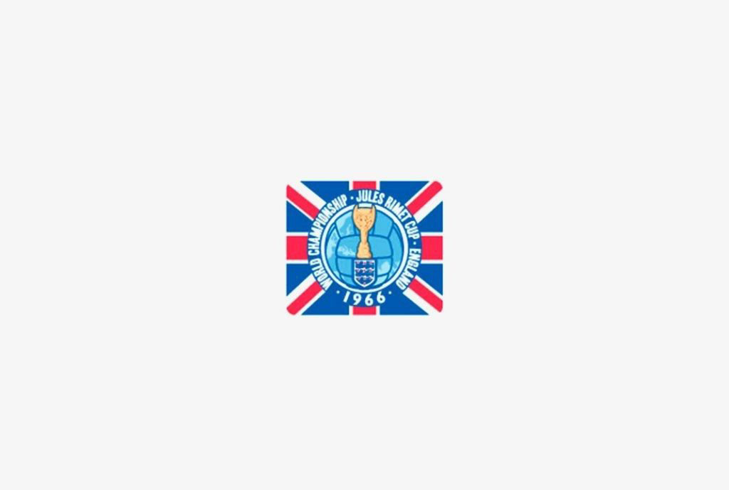 Logo of the United Kingdom Soccer World Cup 1966