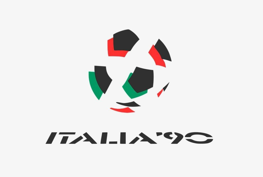 Logo of the World Cup of Italy 1990