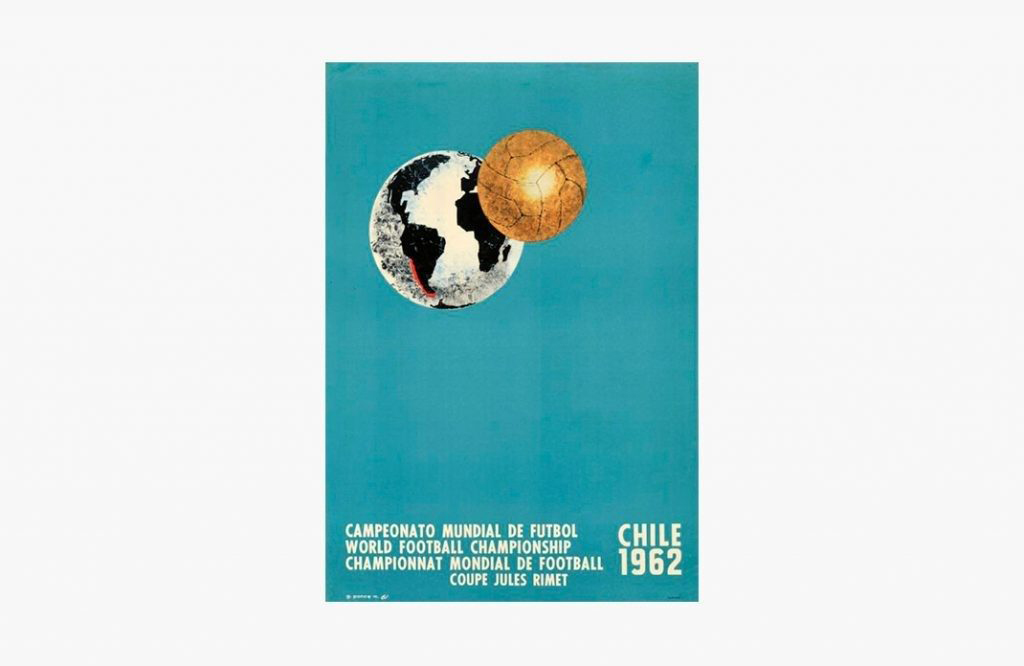Poster of the World Cup of Chile 1962