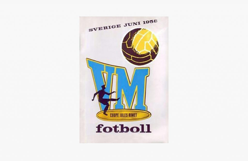 Poster of the World Cup of Sweden 1958